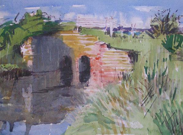 Bridge near Beaulieu River